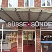Unser Laden von außen
