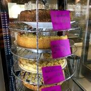 Kleiner Blick auf die Kuchenauswahl